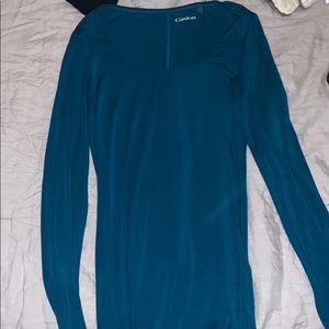 caslon blue long sleeve